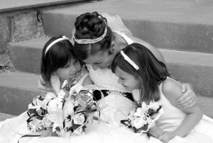 My flowergirls... my new nieces