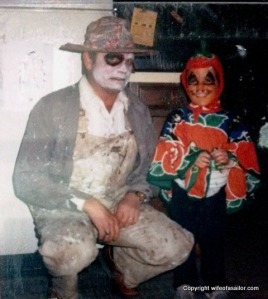 My dad and me during Halloween when I was 2 or 3.