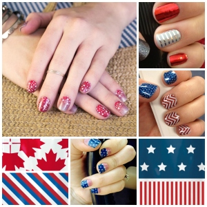 Perfect for Independence Day and Canada Day next month!