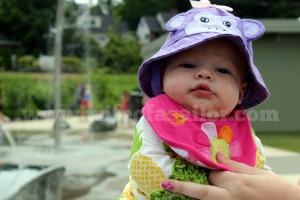 Splash Park. 3 1/2 months